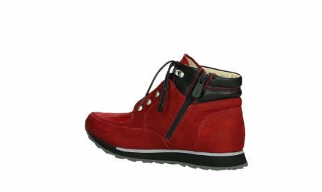 wolky lace up boots 05808 e funk 11505 darkred stretchleather_15
