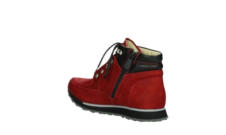 wolky lace up boots 05808 e funk 11505 darkred stretchleather_16