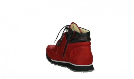 wolky lace up boots 05808 e funk 11505 darkred stretchleather_17
