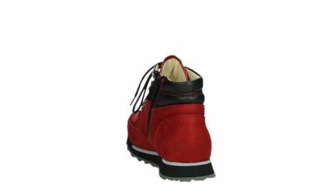 wolky lace up boots 05808 e funk 11505 darkred stretchleather_18