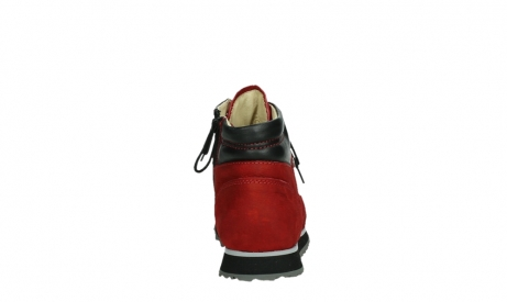 wolky lace up boots 05808 e funk 11505 darkred stretchleather_19