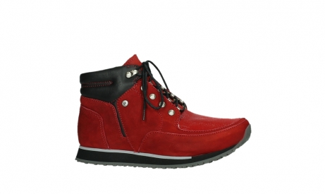 wolky lace up boots 05808 e funk 11505 darkred stretchleather_2