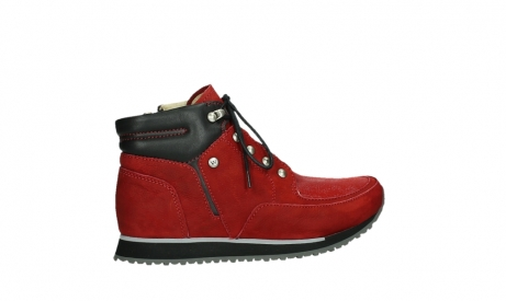 wolky lace up boots 05808 e funk 11505 darkred stretchleather_24