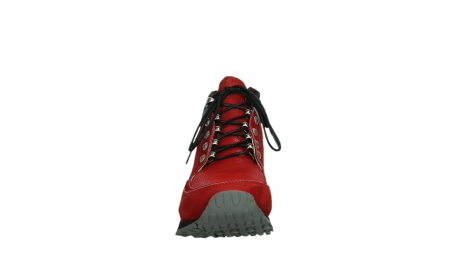 wolky lace up boots 05808 e funk 11505 darkred stretchleather_7