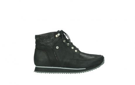 wolky lace up boots 05808 e funk 14000 black stretchleather_1