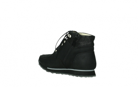 wolky lace up boots 05808 e funk 14000 black stretchleather_10