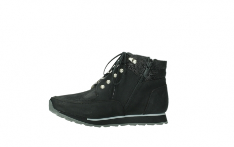 wolky lace up boots 05808 e funk 14000 black stretchleather_14