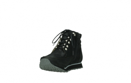 wolky lace up boots 05808 e funk 14000 black stretchleather_17