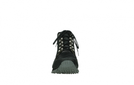 wolky lace up boots 05808 e funk 14000 black stretchleather_19