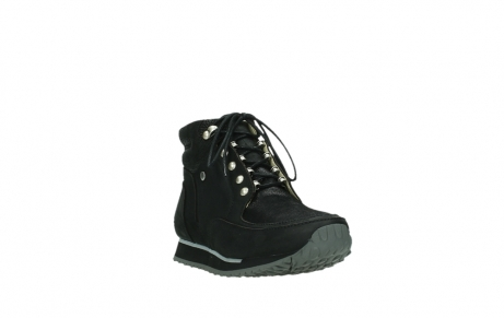 wolky lace up boots 05808 e funk 14000 black stretchleather_21