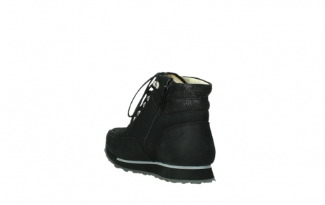 wolky lace up boots 05808 e funk 14000 black stretchleather_9