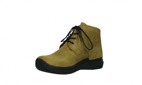 wolky lace up boots 06602 onani 11940 mustard nubuckleather_10