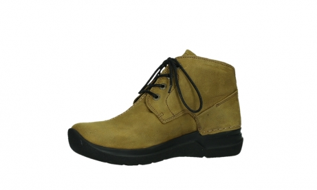 wolky lace up boots 06602 onani 11940 mustard nubuckleather_11