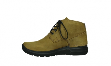 wolky lace up boots 06602 onani 11940 mustard nubuckleather_12