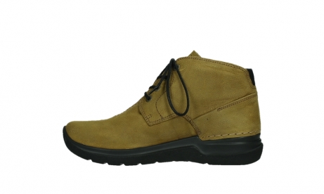 wolky lace up boots 06602 onani 11940 mustard nubuckleather_13