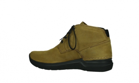 wolky lace up boots 06602 onani 11940 mustard nubuckleather_14