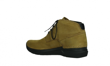 wolky lace up boots 06602 onani 11940 mustard nubuckleather_15