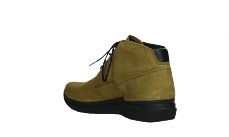 wolky lace up boots 06602 onani 11940 mustard nubuckleather_16