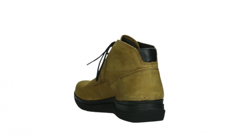 wolky lace up boots 06602 onani 11940 mustard nubuckleather_17