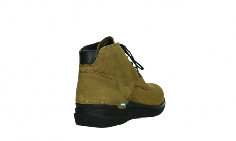 wolky lace up boots 06602 onani 11940 mustard nubuckleather_21