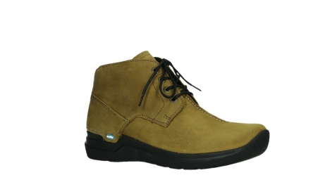 wolky lace up boots 06602 onani 11940 mustard nubuckleather_3