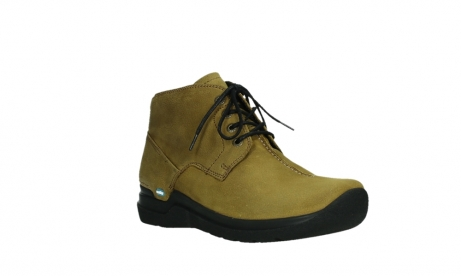 wolky lace up boots 06602 onani 11940 mustard nubuckleather_4