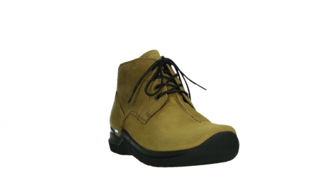 wolky lace up boots 06602 onani 11940 mustard nubuckleather_5