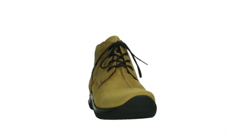 wolky lace up boots 06602 onani 11940 mustard nubuckleather_6