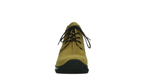 wolky lace up boots 06602 onani 11940 mustard nubuckleather_7