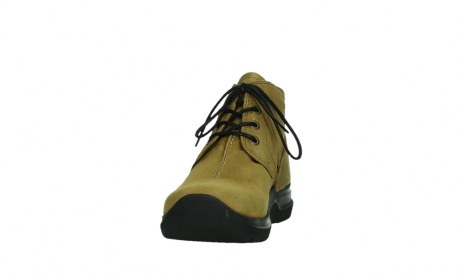 wolky lace up boots 06602 onani 11940 mustard nubuckleather_8
