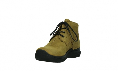 wolky lace up boots 06602 onani 11940 mustard nubuckleather_9