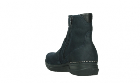wolky ankle boots 06611 okay 11800 blue nubuck_17