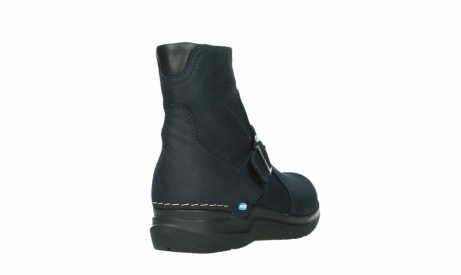 wolky ankle boots 06611 okay 11800 blue nubuck_21