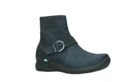 wolky ankle boots 06611 okay 11800 blue nubuck_3