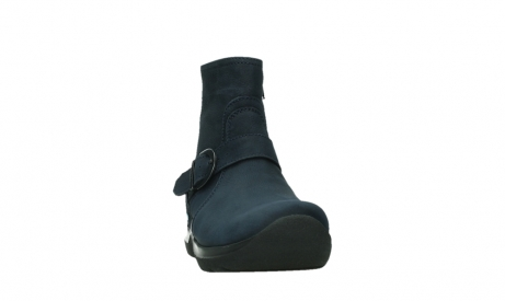 wolky ankle boots 06611 okay 11800 blue nubuck_6