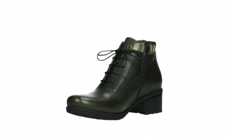 wolky ankle boots 07500 canton 29730 forestgreen leather_10