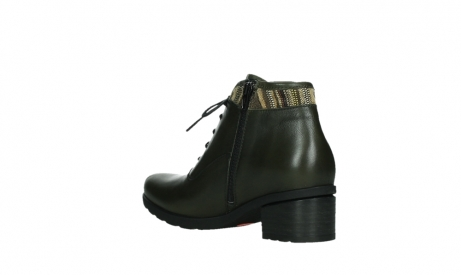 wolky ankle boots 07500 canton 29730 forestgreen leather_16