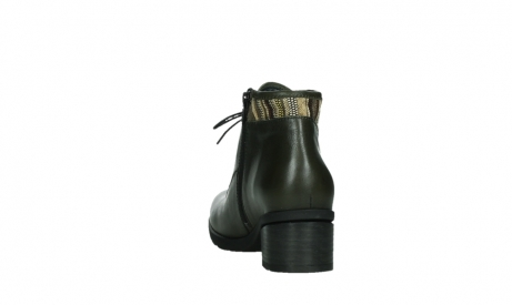 wolky ankle boots 07500 canton 29730 forestgreen leather_18