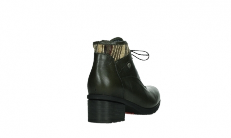 wolky ankle boots 07500 canton 29730 forestgreen leather_21