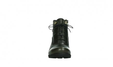 wolky ankle boots 07500 canton 29730 forestgreen leather_7