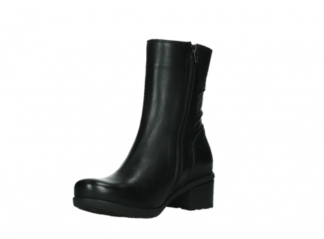 wolky mid calf boots 07501 skytree 20000 black leather_10