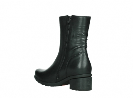 wolky mid calf boots 07501 skytree 20000 black leather_16