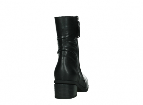 wolky mid calf boots 07501 skytree 20000 black leather_20
