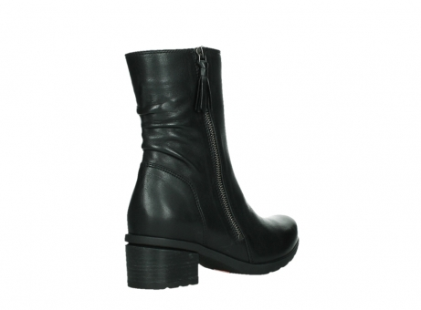 wolky mid calf boots 07501 skytree 20000 black leather_22