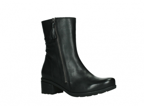 wolky mid calf boots 07501 skytree 20000 black leather_3
