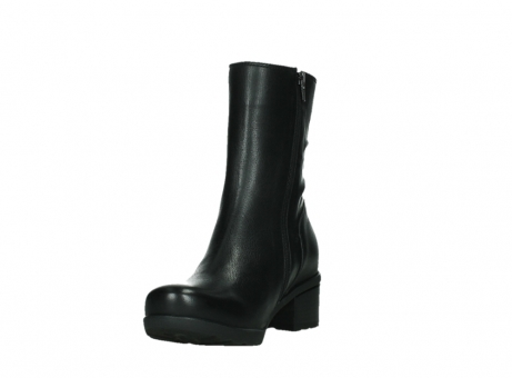 wolky mid calf boots 07501 skytree 20000 black leather_9