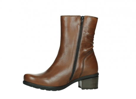 wolky ankle boots 07501 skytree 20430 cognac leather_12