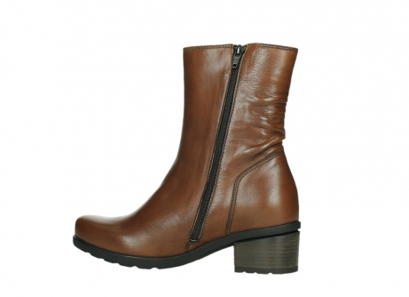 wolky ankle boots 07501 skytree 20430 cognac leather_14
