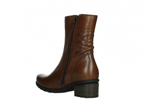 wolky ankle boots 07501 skytree 20430 cognac leather_16