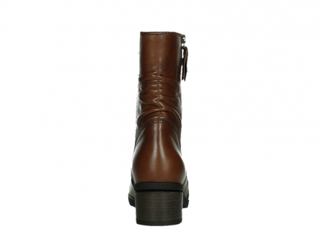 wolky ankle boots 07501 skytree 20430 cognac leather_19
